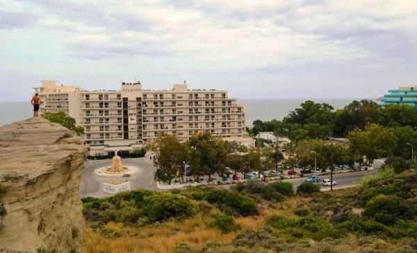 Греция, остров Родос, отель Пегас