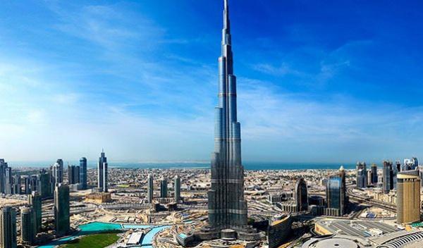 Burj Khalifa - самый высокий небоскреб в мире, Дубай