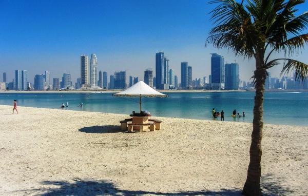 Пляж-парк Мамзар, Персидский залив, Дубай