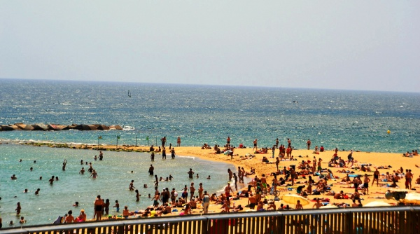 Пляж Богатель, Испания, город Барселона
