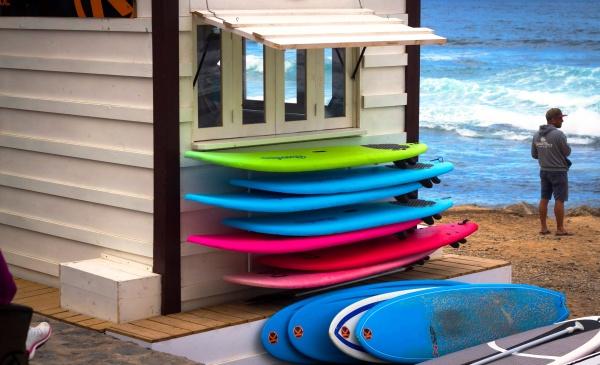 Пляж Тенерифе - отличное и манящее место для всех серферов
