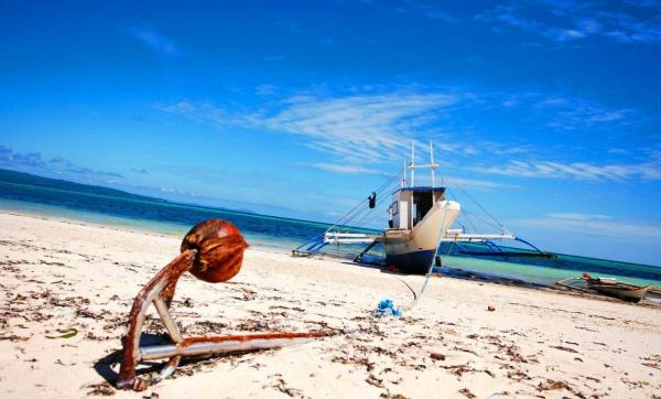 Пляж Bulabog, остров Boracay на Филиппинах