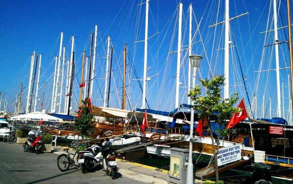 Турция, Порт в Бодруме