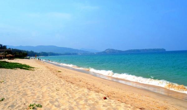 Пляж лагуна пхукет в тайланде
