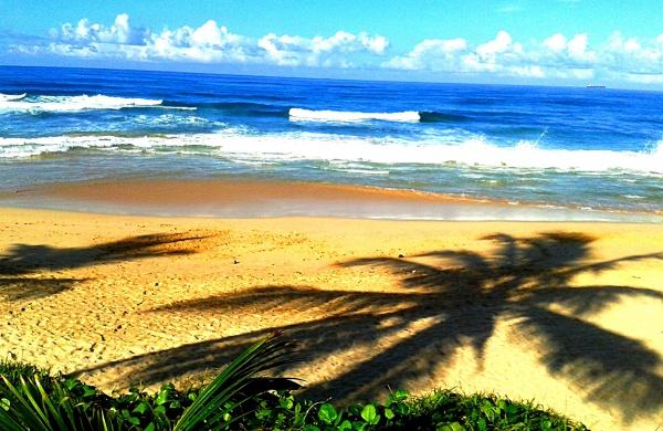Пляж на Индийском океане в Шри-Ланке