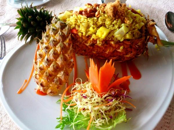 Блюдо из ресторана отеля Klong Prao Resort в Тайланде