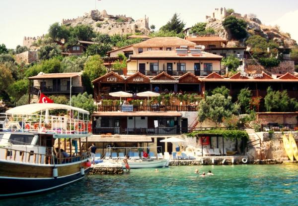 Остров Синема, где самые дорогие отели Турции