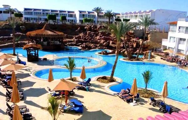 Отель спокойного отдыха Sharming Inn Hotel четыре звезды, подойдет для семьи
