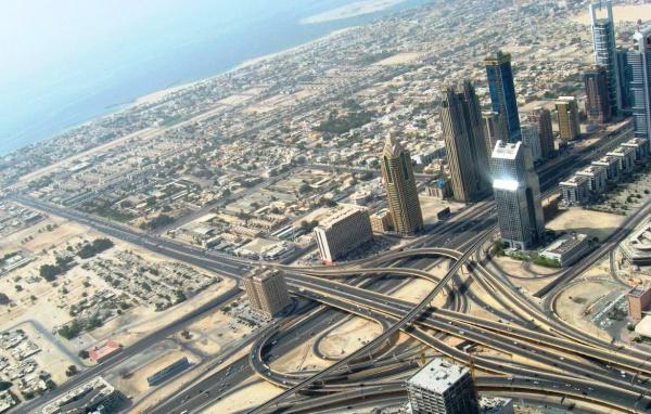 Дубай, вид сверху. А вы так хотите?