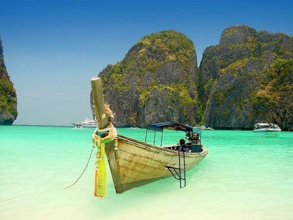 Архипелаг Пхи-Пхи в Тайланд