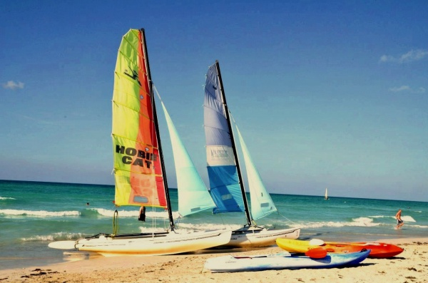 Пляж у отеля Iberostar Tainos 4 звезды
