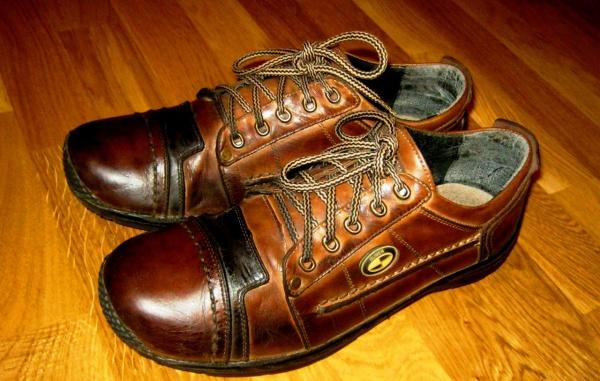 Кожаная обувь отличного качества - вещь не дешевая