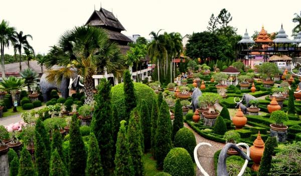 Тропический сад Нонг Нуч, где собрано 670 видов орхидей