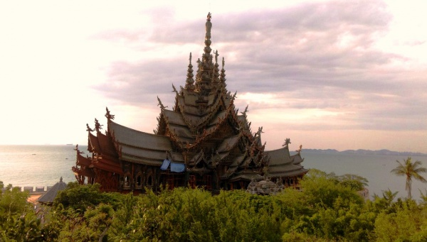 Тайландский Храм Истины