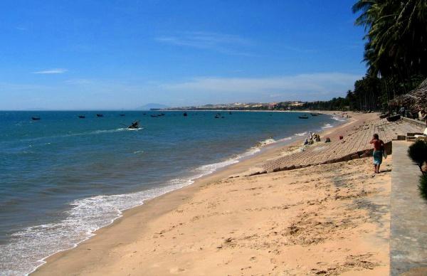 Пляж Муйне (Mui Ne) расположен в 22 км от Фантхьета
