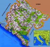Где находится Черногория?