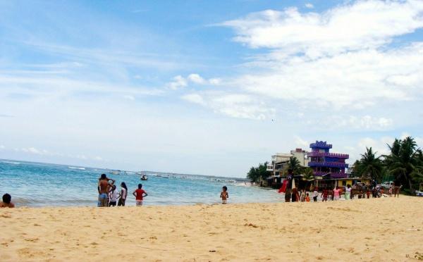 Дикий пляж на западе острова в Коломбо