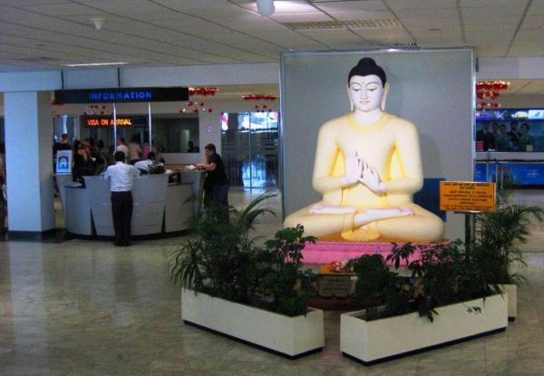 Аэропорт в городе Коломбо на острове Шри-Ланка