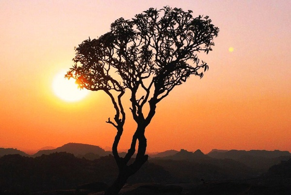 Красивые пейзажные закаты Индии