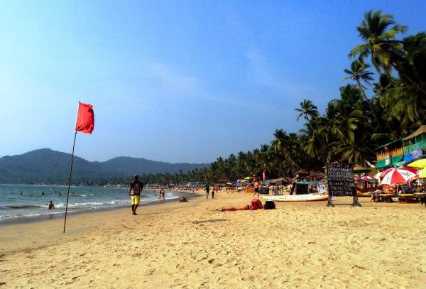 Пляж Колва на Гоа