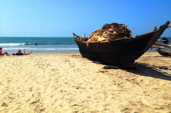 Северный Гоа и пляж Арамболь в сентябре