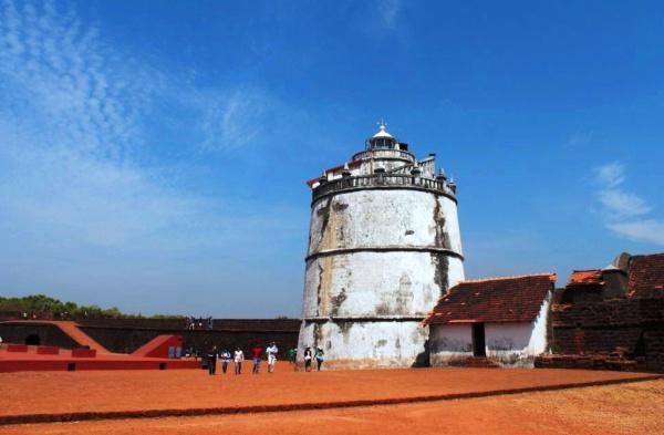 Форт Агуада на Гоа призван защищать дельту реки Мандови