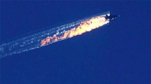 Турции был сбит турками российский военный самолет СУ-24