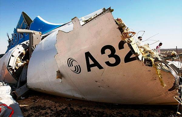 Российский авиалайнер разбился над Синаем