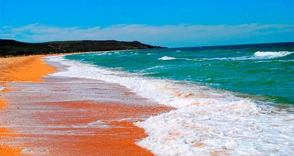 Азовское море, Крым