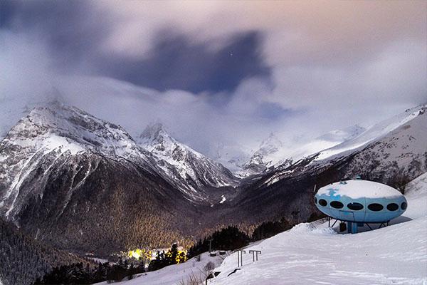 домбай горнолыжный курорт фото