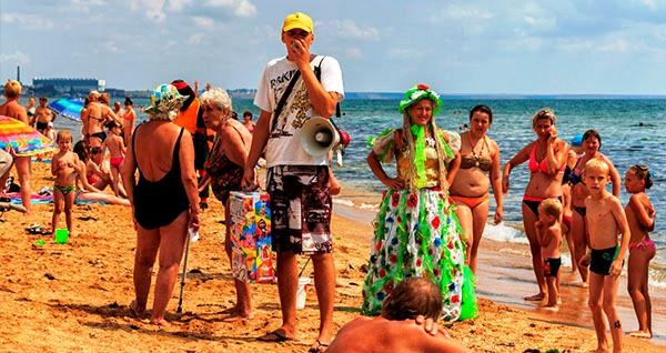 Пик пляжного сезона