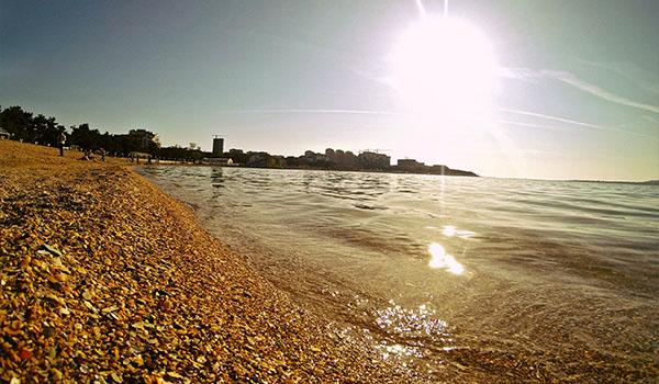 Прекрасные пляжи в Ялте