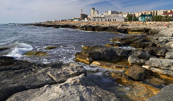 Отличное море и пляжи в Актау
