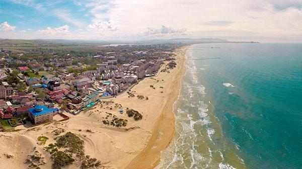 Пляж в Джемете (Анапа)