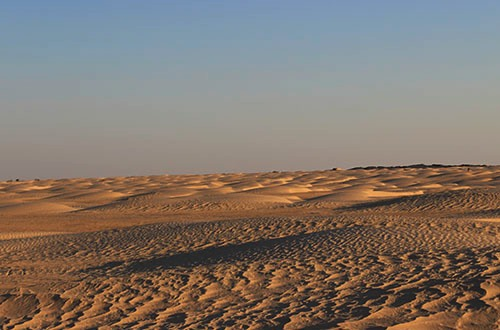 Пугающая пустыня Сахара