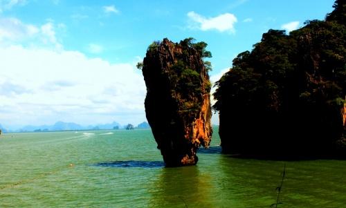 Остров Джеймса Бонда в Тайланде, провинция Краби