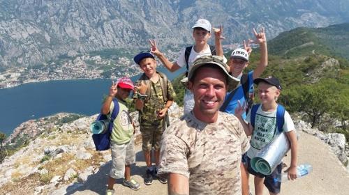 Детский летний лагерь в Черногории