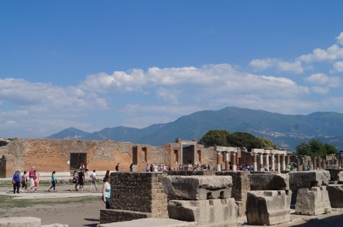 Помпеи, Раскопки