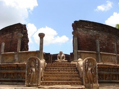 Древний город Полоннарува, Шри-Ланка