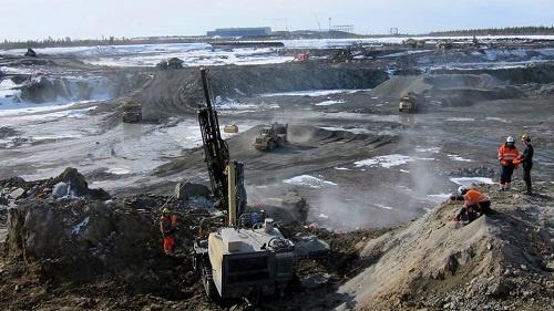 Железорудный рудник «Тапули» на севере Швеции