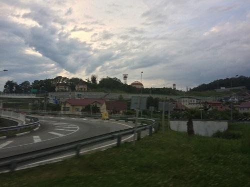 Дорога в Адлер