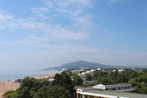 Вид на побережье Албены из номера отеля Калиакра Супериор 4*