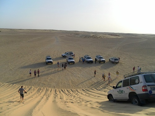 В Сахаре на джипах