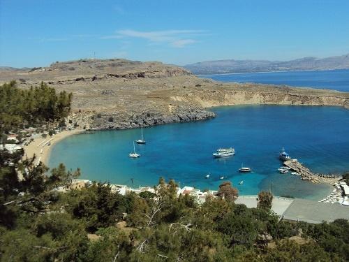 Райская бухта, Линдос, о. Родос