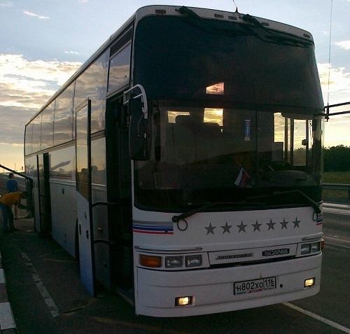 Автобус в Туапсе