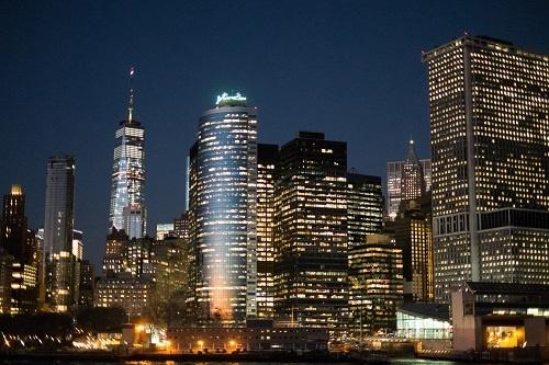 Ночной Манхэттен