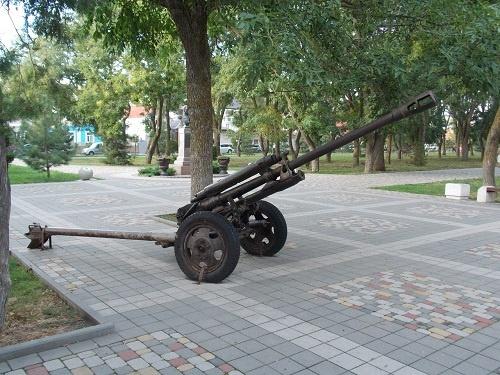 Краеведческий музей, Пушка у входа в музей