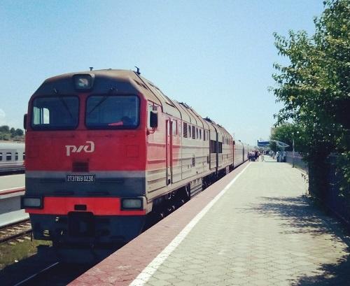 Поезд Москва-Анапа