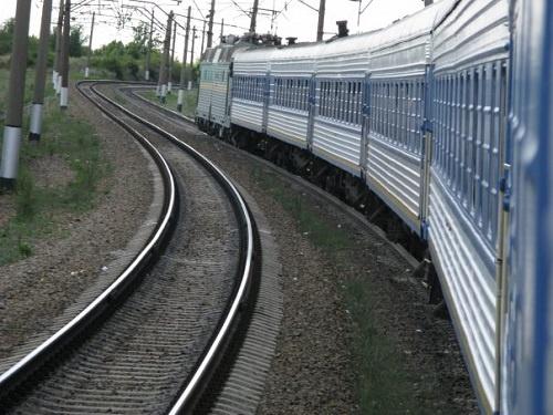 Пассажирский поезд Москва-Новороссийск