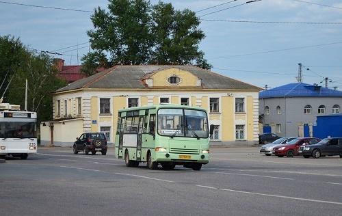 Автобус в Суздаль